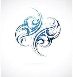 Decorative tattoo vector image