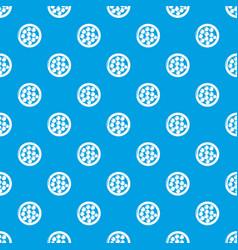 Face powder pattern seamless blue vector