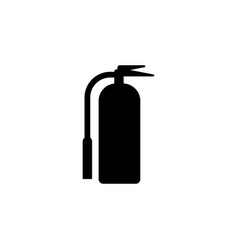 fire extinguisher icon design template isolated vector image