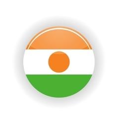 Niger icon circle vector