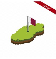Qatar isometric map and flag vector