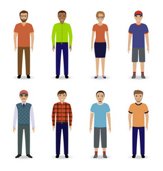 business people 3 vector image
