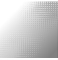 Abstract gray halftone dots background vector