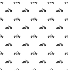 Motobike pattern simple style vector image