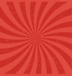 red radial rays background rays diverging from vector image