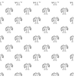 robot octopus pattern seamless vector image