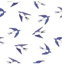 Swallow pattern vector