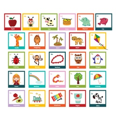 fun alphabet vector image vector image