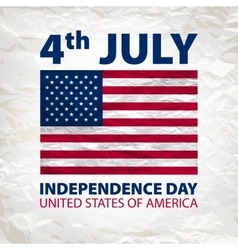 Independence Day Independence Day vector image
