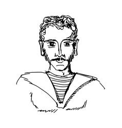 seaman vector image vector image