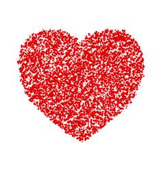 crayon valentine 21 vector image