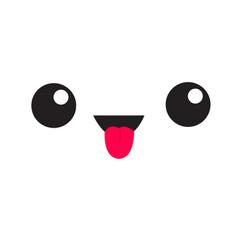 eyelash emoji emotion vector images 56