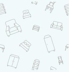 furniture background 07 vector image