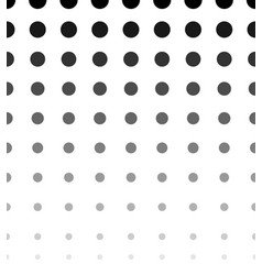 halftone dotted pattern texture horizontally vector image