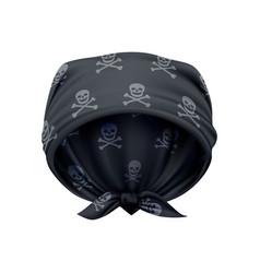 head bandana vector image