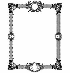 Ornate elegant border 1 vector