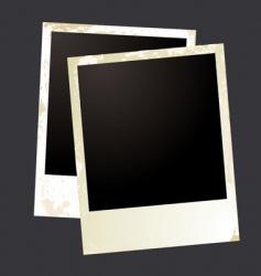 Photo grunge overlap vector