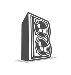 Speaker initial b lettermark graphic vector