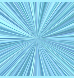 Abstract starburst background from radial stripes vector