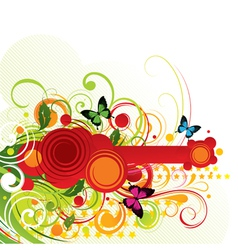 colour composition vector image