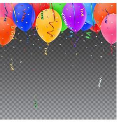 Celebration background template vector image vector image