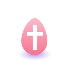 painter easter egg icon isolated on white vector image
