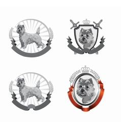 Cairn logos vector image