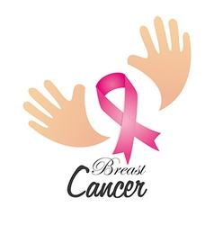 Cancer design over white background vector