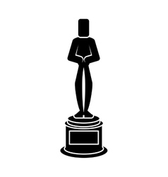 Isolated cinema trophy design vector