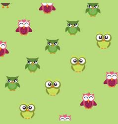 owl logo silhouette vector image