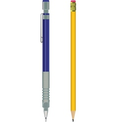 Pencil and automatic vector