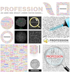 PROFESSION vector