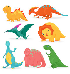 set adorable vector image