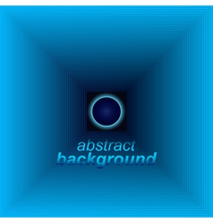 Abstract space tunnel vector image