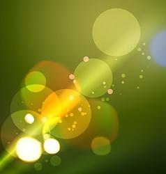 Background of stylish bokeh lights vector