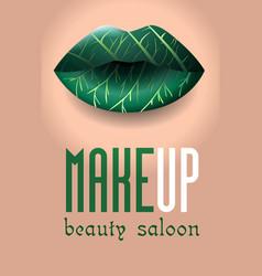 beauty salon 5 vector image
