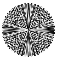 Circle rotation pattern vector
