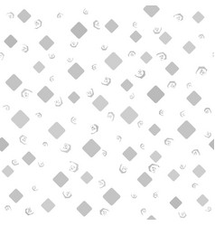 Diamond pattern with spirals seamless background vector