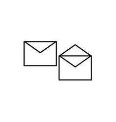 envelopes icon vector image