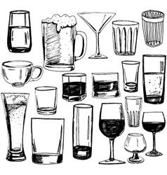glasses2 vector image