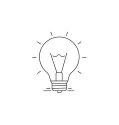 Ideas line icon vector