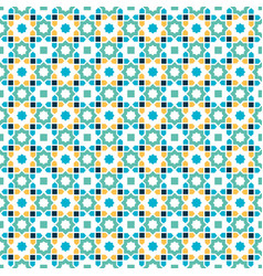 Islamic pattern arabic star seamless abstract vector