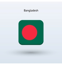 Bangladesh flag icon vector image