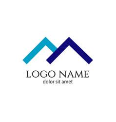 Home logo template design vector
