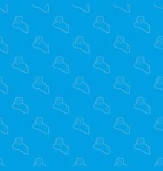 Mini camera pattern seamless blue vector