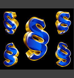paragraph sign vector image