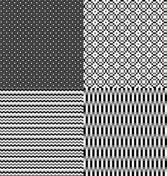 pixel monochrome abstract neutral background vector image