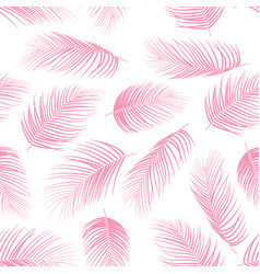 Seamless pattern with palm leaves background vector