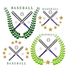 The theme baseball vector