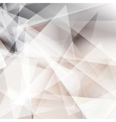 Abstract geometric grey background vector